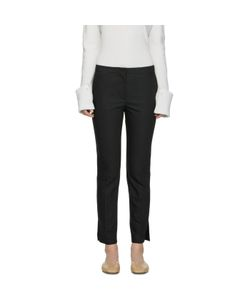 Helmut Lang | Polished Ankle Trousers