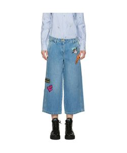 Kenzo | Embroide Cropped Jeans