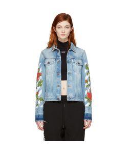 Off-White | Roses Slim Denim Jacket