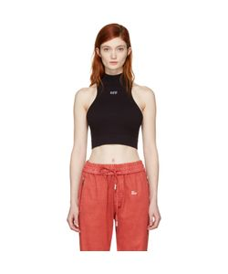 Off-White | Intarsia Off Cropped Tank Top