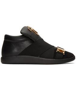 Giuseppe Zanotti | Crossover Strap Slip-On Sneakers