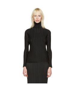 Pleats Please By Issey Miyake | Pleats Please Issey Miyake Pleated Turtleneck