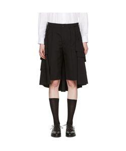 Comme Des Garçons | Wool Ruffle Skirt Shorts