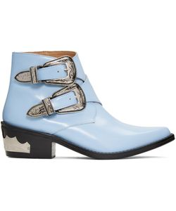 Toga Pulla | Double-Buckle Boots