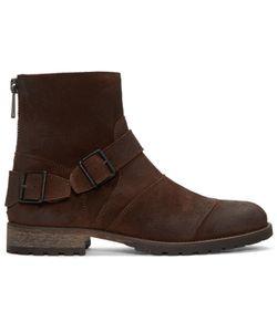 Belstaff | Burnished Suede Trialmaster Boots