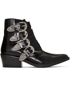Toga Pulla | Western Buckle Boots