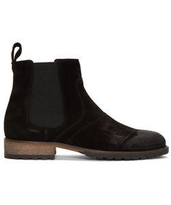 Belstaff | Burnished Suede Lancaster Chelsea Boots