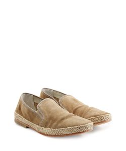 N.d.c. | Suede Loafers With Straw Midsole Gr. Eu 41