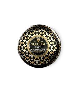 Voluspa | 2 Wick Maison Metallo Crisp Champagne Candle Gr. One Size