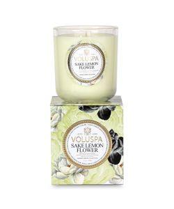 Voluspa | Classic Maison Sake Lemon Flower Wax Candle Gr. One Size