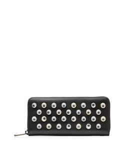 Marc by Marc Jacobs x Disney | Googley Eye Embellished Leather Zip Around Wallet Gr. One Size