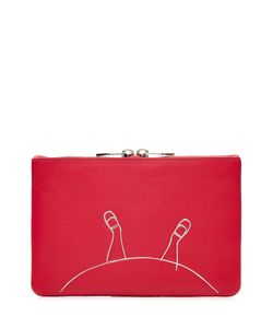 Marc by Marc Jacobs x Disney | Alice Zipped Leather Pouch Gr. One Size