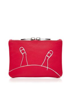 Marc by Marc Jacobs x Disney | Alice Small Zipped Leather Pouch Gr. One Size