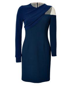 Marios Schwab | Knit Crepe Long Sleeve Dress Gr. Uk 8