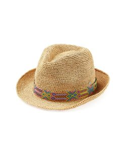 Florabella | Raffia Hat With Bead Embellishment Gr. One Size