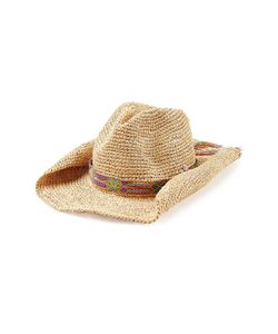 Florabella | Raffia Hat With Woven Band Gr. One Size