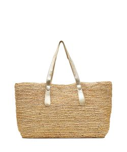 Florabella | Raffia Tote With Leather Straps Gr. One Size