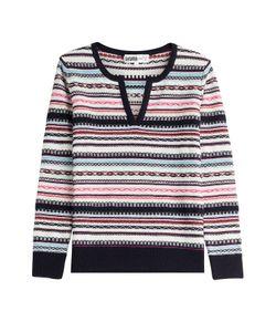 Claudia Schiffer for TSE   Cashmere-Cotton Pullover Gr. S