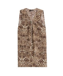 The Kooples | Silk Leopard Print Top Gr. S