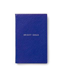 Smythson | Bright Ideas Leather Notebook Gr. One Size