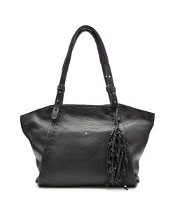 Henry Beguelin | Leather Tote With Knotted Tassel Gr. One Size