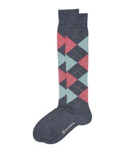 Burlington | Knee High Argyle Print Socks With Virgin Wool Gr. Socks 36-41