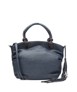 Henry Beguelin | Woven Leather Tote With Tassel Gr. One Size