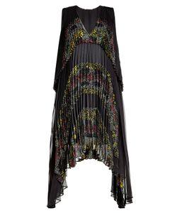 Marco de Vincenzo | Pleated Silk Dress Gr. It 42