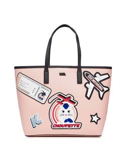 Karl Lagerfeld | Tote With Patches Gr. One Size