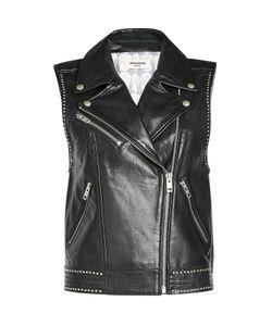 Zadig & Voltaire   Studded Leather Biker Vest Gr. L