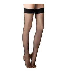 Fogal | Stay-Up Fishnet Stockings Gr. L