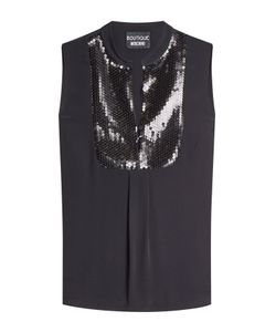Boutique Moschino | Sleeveless Shell With Sequins Gr. It 42