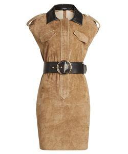 Jitrois | Belted Suede Dress Gr. Fr 40