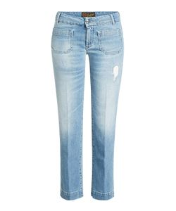 Seafarer | Cropped Jeans With Distressed Detail Gr. 31