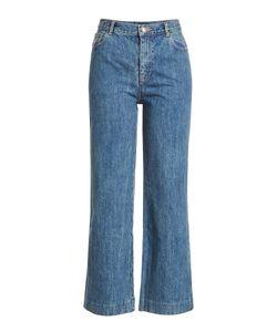 A.P.C. | High-Waisted Crop Jeans Gr. 28