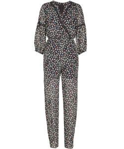 Anna Sui | Printed Silk Chiffon Jumpsuit Gr. Us 2