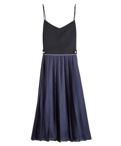 Victoria, Victoria Beckham | Pleated Midi Dress Gr. Uk 8