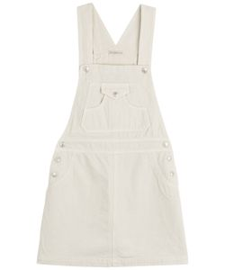 Alexa Chung for AG | Gillian Denim Dungaree Dress Gr. L