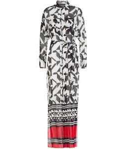 Alexandre Vauthier | Printed Silk Maxi Dress Gr. Fr 36