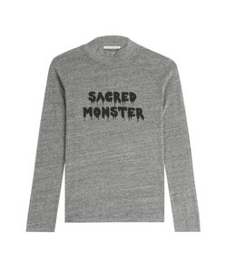 Alexa Chung for AG | Sacred Monster Jersey Turtleneck Top Gr. L
