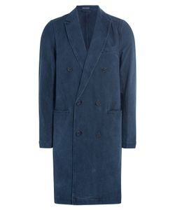 Blue Blue Japan | Swede Chester Cotton Coat Gr. L