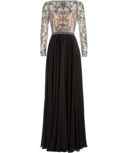Catherine Deane | Embellished Silk Floor Length Gown Gr. Uk 8