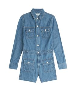 Alexa Chung for AG | Loretta Denim Playsuit Gr. S