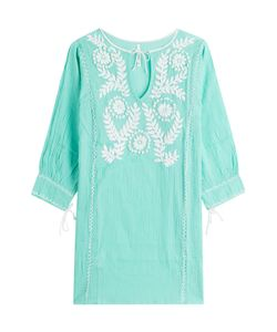 Florabella | Embroidered Cotton Tunic Gr. L