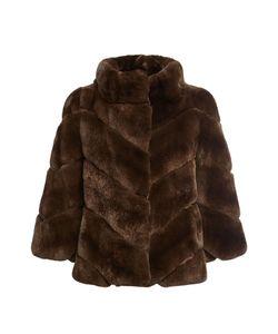 Yves Salomon | Rabbit Fur Jacket Gr. Fr 38