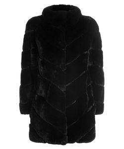 Yves Salomon | Rabbit Fur Coat Gr. Fr 40