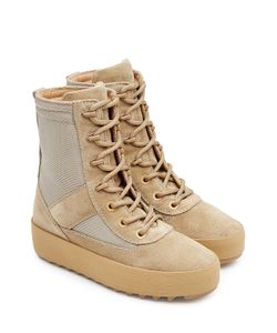 Yeezy | Suede Boots With Mesh Gr. Eu 40