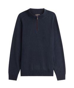 Iris von Arnim | Cashmere Pullover With Zipped Front Gr. Xl
