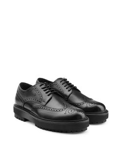 Tods   Leather Brogues With Platform Sole Gr. Uk 8.5