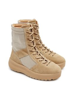 Yeezy | Suede Boots With Mesh Gr. Eu 42